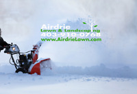 Residential & Commercial Snow Removal Airdrie