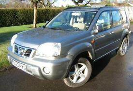 Nissan X-Trail 2.2Di SVE Leather + Sunroof 2003 53 reg with 125k miles