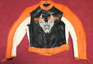 Womans Extra Small Harley Davidson Leather Jacket