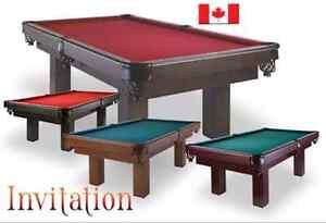 Table de pool Canada billard