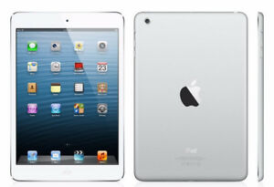 Fabulous 128GB Apple iPad mini 3 Wifii-White/Silver+Accessories