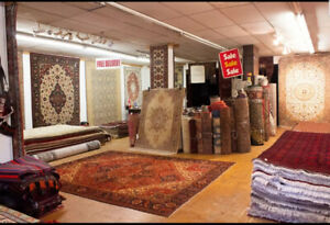 PERSIAN RUGS - DOWNTOWN -  CLOSING SALE