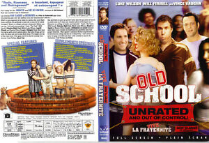 Old School Unrated (2006) - Will Farrell, Luke Wilson