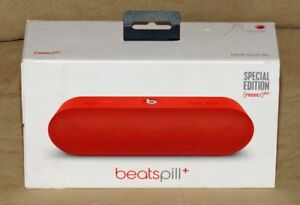 "Mint Condition Beats Pill+ "" Product Red"" Bluetooth Speaker"