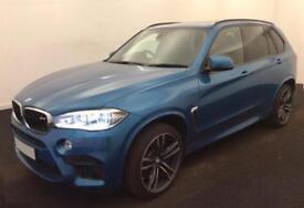 2015 BLUE BMW X5M 4.4 XDRIVE X5M PETROL AUTO 4X4 CAR FINANCE FR £209 PW