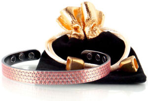 Brand New Copper Magnetic Bracelet - Magnetic Therapy (Triangle)