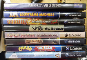 Gamecube Games (playable on the Wii)