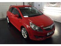 """Vauxhall Corsa SXI, red, 17"""" alloys, VXR bodykit"""