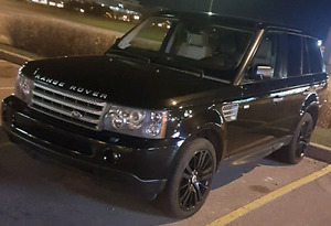 2009 Black Range Rover Sport Super Charged