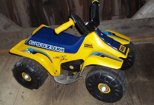 Suzuki Quad 4-Wheeler Power Ride on Toy