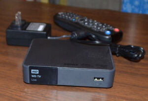 WD TV Live with remote, for sale $50.
