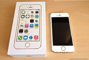 WHITE Apple iPhone 5S 16 GB - Telus / Koodo