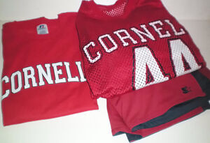 Cornell University Mesh Jersey Coordinating Shorts and T Shirt