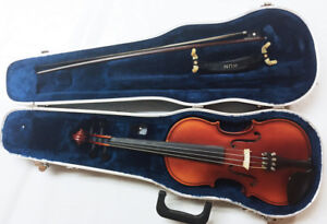 Knilling Bucharest Violin, Size 3/4, Case, Bow, Made in Romania
