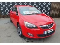 2011 Vauxhall Astra SRI 1.4 Hatchback Petrol Manual