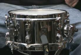 """Mapex 10"""" Black Panther Steel """"STINGER"""" snare drum"""