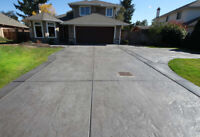 PREFABRICATED HEATED CONCRETE DRIVEWAY SYSTEM & PATENT PENDING