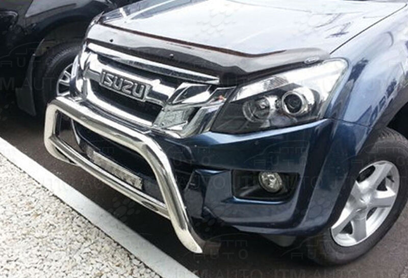 Isuzu D-Max DMAX Nudge Bar Stainless Steel Grille Guard 2012-2019