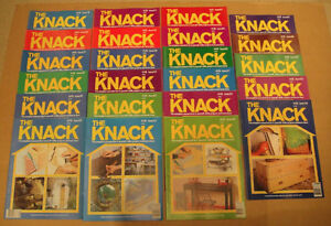 THE KNACK 23 Vintage Home Improvement Magazines MINT