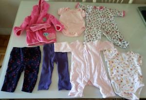 Vêtements 0-6 mois fille