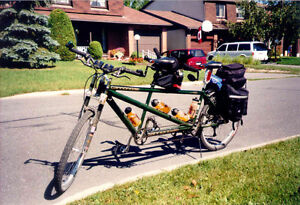 Cannondale Full Suspension Tandem Bicycle Kingston Kingston Area image 1