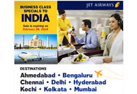 INDIA BUSINESS CLASS FLIGHT SPECIALS!