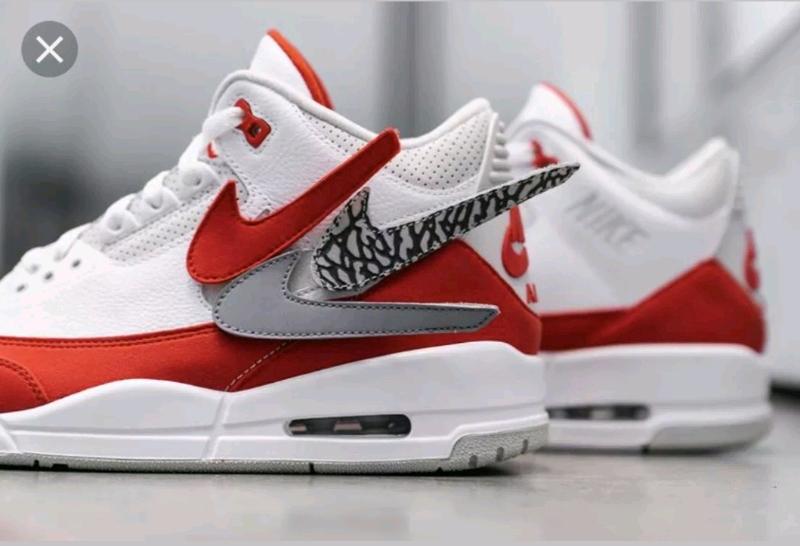 bcf81cc64c5 Nike Air Jordan 3 RetroTinker Hatfield Air Max 1 AJ3 White Red | Men's Shoes  | Gumtree Australia Moreland Area - Coburg | 1214573485