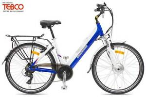 Tebco Discovery Classic eBike (Blue)(Red) 2019 rrp$1999 Concord West Canada Bay Area Preview