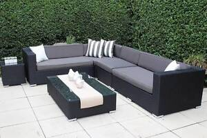 WICKER LOUNGE SETTING,MULTI CONFIGURATION,EUROPEAN STYLED/B/NEW Rocklea Brisbane South West Preview