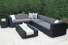 WICKER LOUNGE SETTING,MULTI CONFIGURATION,EUROPEAN STYLED,B/NEW Port Melbourne Port Phillip Preview