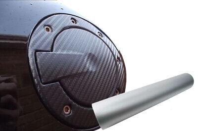 Auto PKW Design Folie Set in Silber Matt Premium Tankdeckel Tank Deckel