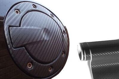 PKW Design Folie Set in Carbon Schwarz Premium Tankdeckel Tank Deckel Auto