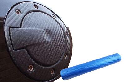 Auto PKW Design Folie Set in Carbon Blau Premium Tankdeckel Tank Deckel