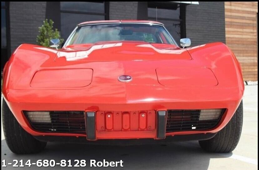 1976 Red Chevrolet Corvette   | C3 Corvette Photo 3