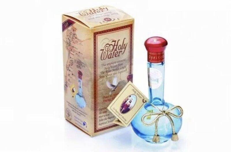 Authentic Certified Holy Water from the Jordan River 90ml(2.5oz)
