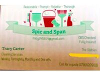 Spic n Span Cleaning Services now covers a wider area after expanding. Discount for new customers 🏡