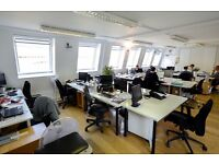 Beautiful, friendly and bright shared office space with up to 13 desks London EC1