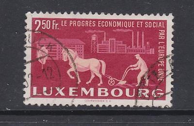 Luxembourg - SG 546 - f/u - 1951 - 2f 50 - United Europe