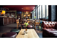 Full & Part Time Bar Staff wanted for The Slaughtered Lamb, Clerkenwell. Part of Barworks