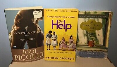 Lot of 3 #1 New York Times Best Sellers Books | My Sister's Keeper; The