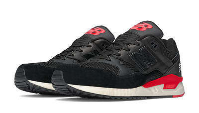 NEW BALANCE 530 ELITE LOST CLASSICS M530LC BLACK/RED/BEIGE - SUEDE/MESH/LEATHER