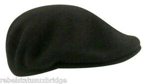 KANGOL Hat 504 Wool Flat Cap 0258BC Winter Cap Various colours & Sizes