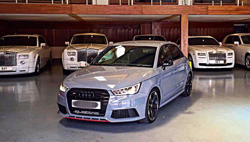 audi s1 replica nardo grey a1 s line black edition. Black Bedroom Furniture Sets. Home Design Ideas