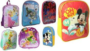 NEW-CHILDRENS-BOYS-GIRLS-NOVELTY-TV-CHARACTERS-SCHOOL-BACK-PACKS-RUCK-SACS-BAGS