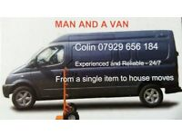 Man and a Van at a low price. Scotland. Dundee / Perth