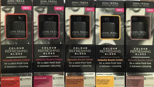john frieda colour refreshing gloss choose your color 6oz free ship - Color Refreshing Gloss