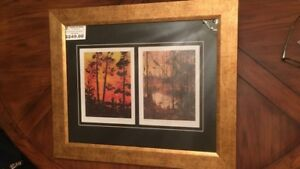 Tom Thomson Group Of Seven Two Framed Prints Limited Edition
