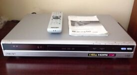 Sony RDR-HXD860 DVD Player/Recorder.