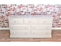 Large Chest of Drawers / Bedroom Dressing Table Three-over-Two - Any Farrow & Ball Colour!