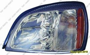 Head Light Driver Side Fwd High Quality Cadillac Deville 2003